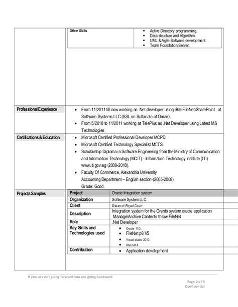 Dotnet Programmer Cover Letter by Sle Cover Letter Sle Resume Using Sharepoint Project