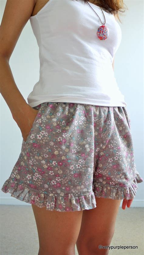 Stradivarius Ruffled Top With Swiss Embroidery floral shorts with ruffled hem sewing projects burdastyle