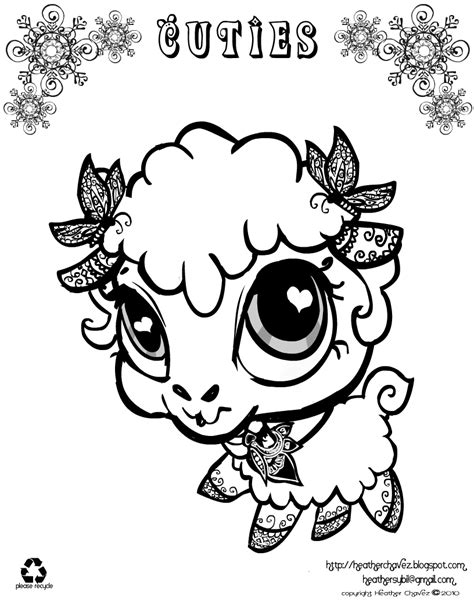 Quirky Artist Loft Cuties Free Animal Coloring Pages Coloringpages Cuties