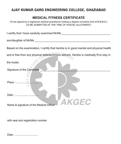 medical certificate format template for proposal free tri fold