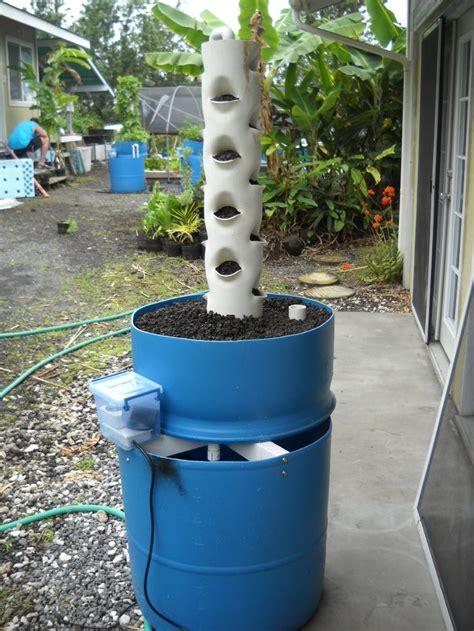 Vertical Garden Barrel 87 Best Images About Aquaponics On Vertical