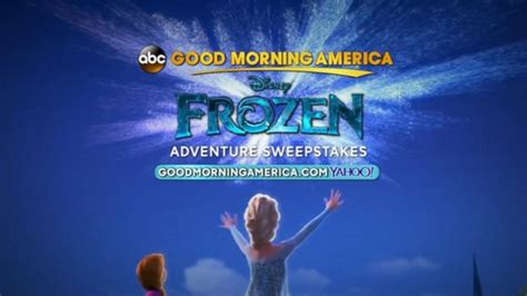 Abc News Sweepstakes - enter the frozen adventure sweepstakes video abc news
