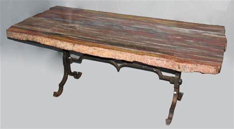 petrified wood dining table large striking striated petrified wood dining table top
