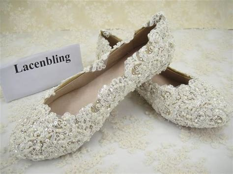 beaded wedding shoes wedding shoes lace bridal shoes flat lace bridal shoes