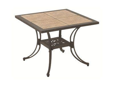 ceramic tile patio table suncoast ceramic tile patio cast aluminum 28 quot square end