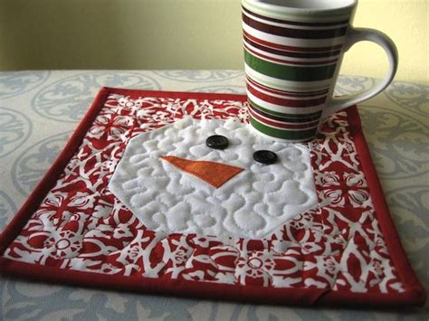 1000 ideas about snowman quilt on quilts