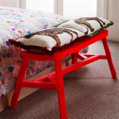 red bedroom bench red bedroom bench new modern bedroom buys housetohome