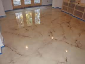 Epoxy Floor Covering Metallic Epoxy Flooring Nh Ma Maine Concrete Contractor