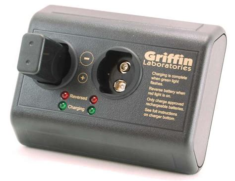 rechargeable 9v battery and charger the smartcharger 9v battery charger by griffin laboratories
