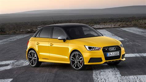 Audi A1 Gelb by Audi S1 Sportback Hd Wallpaper And Background Image