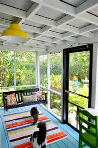 great screened in porch decor the open ceiling with