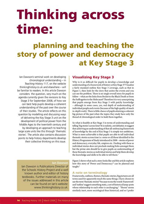 teaching democracy ks3 calam 233 o planning and teaching democracy