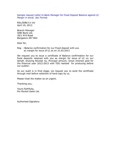 Confirmation Letter From Bank Best Photos Of Template Of Letter Of Balance On Account Outstanding Balance Letter Sle