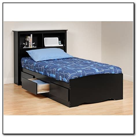 twin platform bed frame with storage twin platform bed with storage beds home design ideas