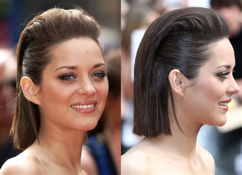 public hair pictures pictures of marion cotillard s hair at the public enemies