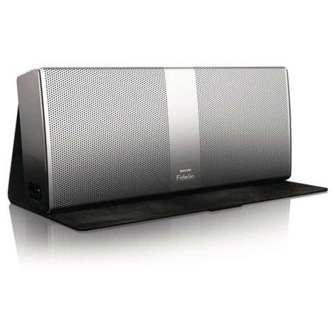 Speaker Bluetooth Philips philips fidelio p9 bluetooth wireless portable speaker silver electronics thehut