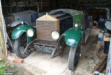 rolls royce oldest car vintage goshawk rolls royce found gathering dust in a