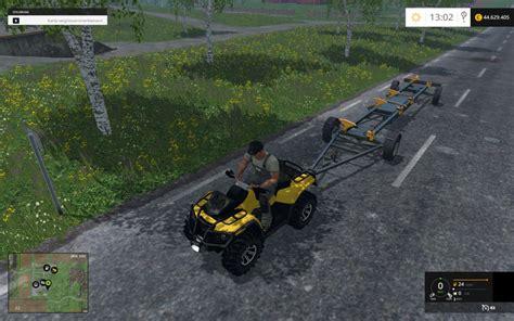 Motorrad Cing Equipment by Canam 1000 Xt Vehicles V 1 0 Farming Simulator 2015 15 Mod
