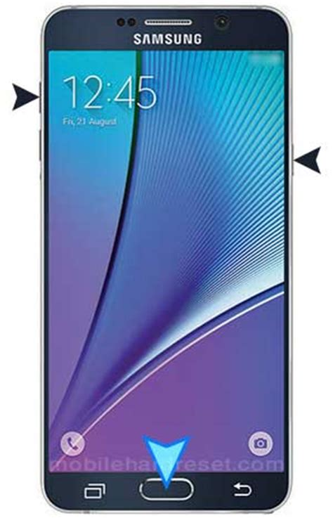 reset samsung note 5 how to hard factory reset samsung galaxy note 5