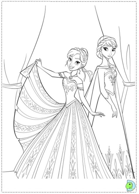 coloring pages disney princess frozen get this disney frozen princess anna coloring pages free