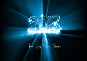 shiny 2017 happy new year card free vector stock graphics images