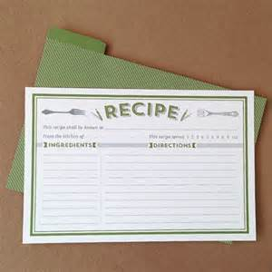 recipe cards template free 8 free recipe card templates excel pdf formats