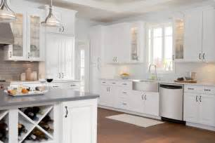 White Painted Kitchen Cabinets Painting White Kitchen Cabinet Design Ideas Kitchentoday