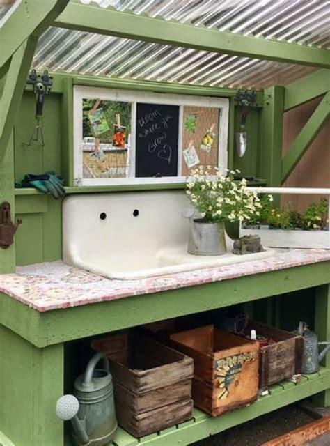 brilliant garden shed  sink ideas homemydesign