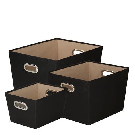 canvas storage bins 3 piece canvas storage bins franklincovey
