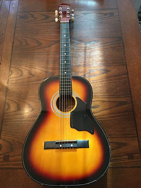 Harmony Handcrafted Guitar - vintage harmony marquis 0401p handcrafted 3 4 parkir