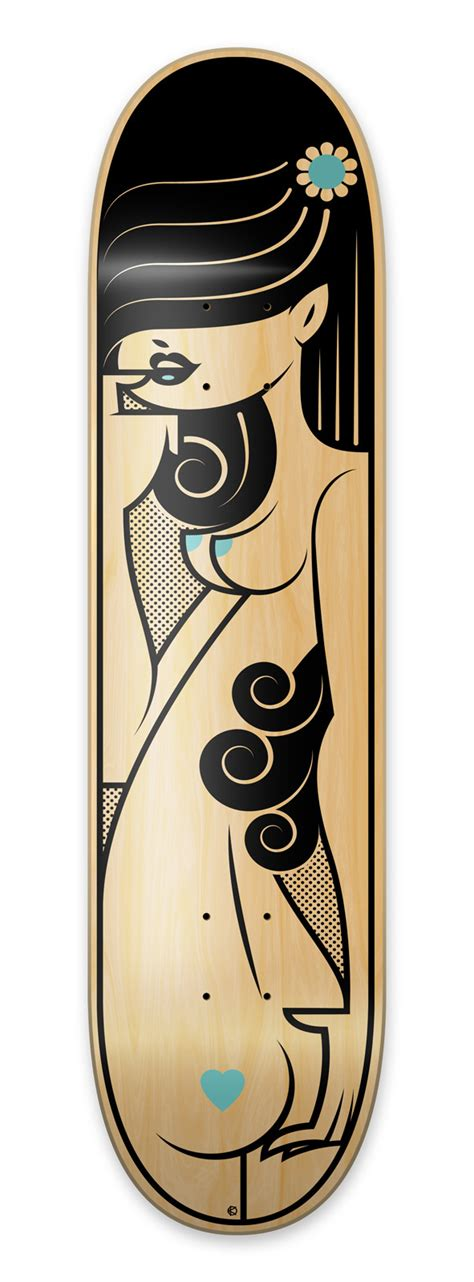 Awesome Skateboard Deck by 100 Epic Exles Of Skateboard