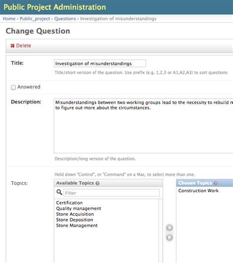 django questionnaire tutorial tutorial django public project 0 7 beta documentation