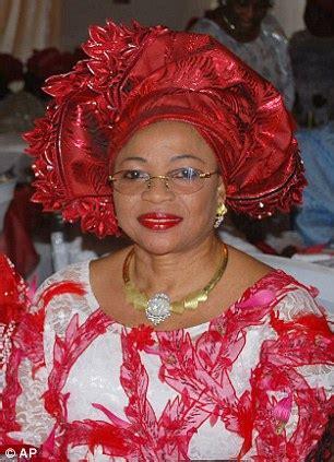folorunsho alakija replaces oprah winfrey as richest black in world daily mail