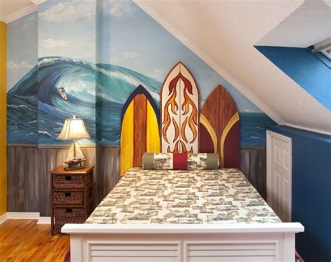 surf themed bedroom coastal surf theme boy s bedroom