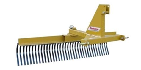 Landscape Rake Everything Attachments King Kutter Professional Landscape Rake