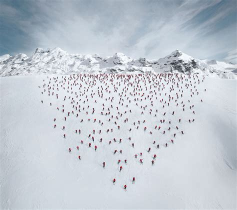 hundreds of mountaineers climb the alps for epic hundreds of mountaineers climb the alps for epic