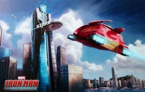 iron man ride flies hong kong disneyland boing boing
