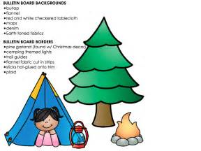 Clutter free classroom camping themed classroom pictures