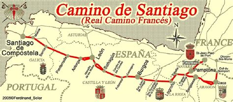 el camino de santiago de compostela 12 etapas a santiago los puentes camino de santiago