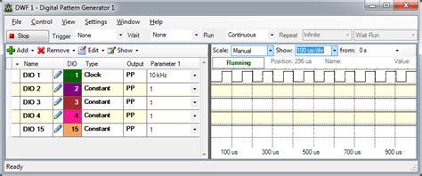 pattern generator logic analyzer analog discovery getting started with the logic analyzer