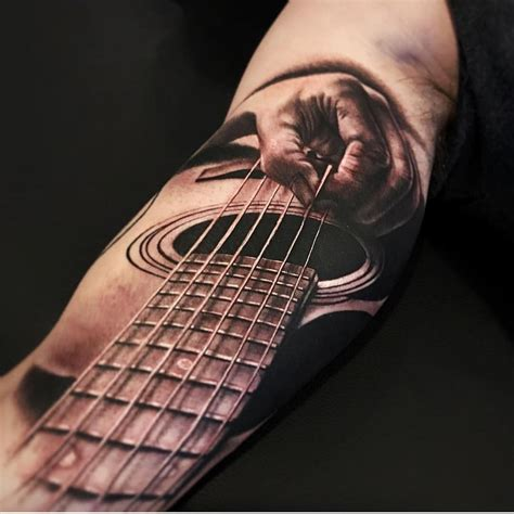 perspective tattoo guitar player perspective tattoos tattoos guitar