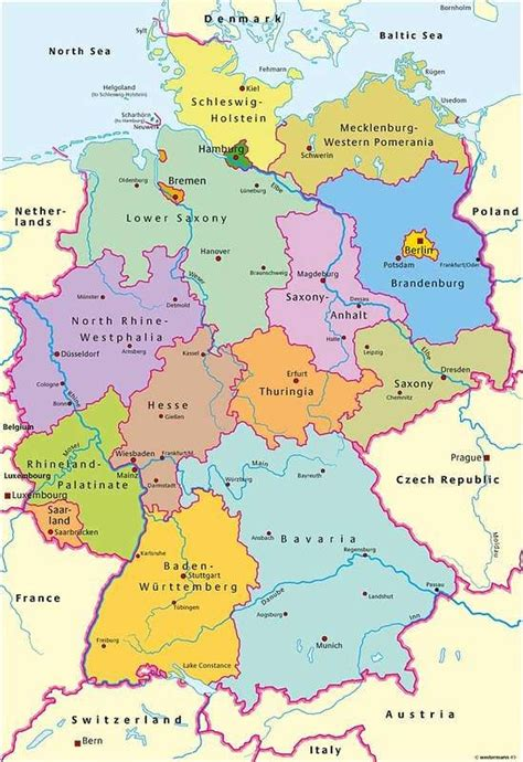 germany map states map of german states and switzerland in 1764 900000