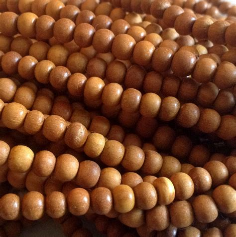 sandalwood bulk sandalwood 7mm 5 strands carved from rajasthan