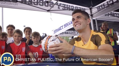 christian pulisic in hershey christian pulisic the future of american soccer returns