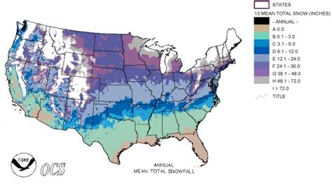 us weather map snow snowfall forecast