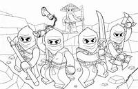 My Kids Love To Print And Color These Ninjago Coloring Pages Also