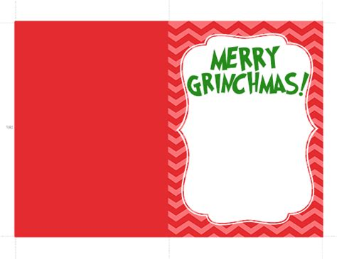 Grinch Card Template by The Grinch Handprint Card With Printable I