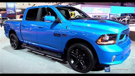 2018 dodge ram 1500 hydro blue sport exterior and