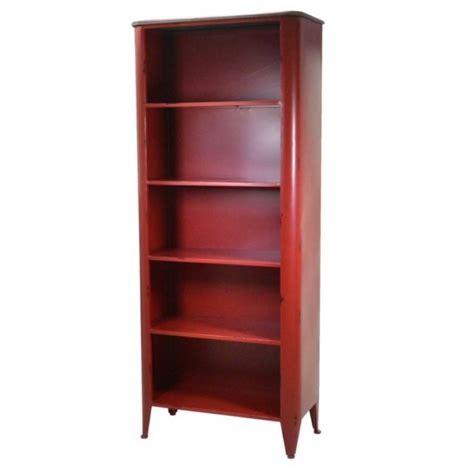 libreria rossa libreria rossa industriale 74lx34px175h cm
