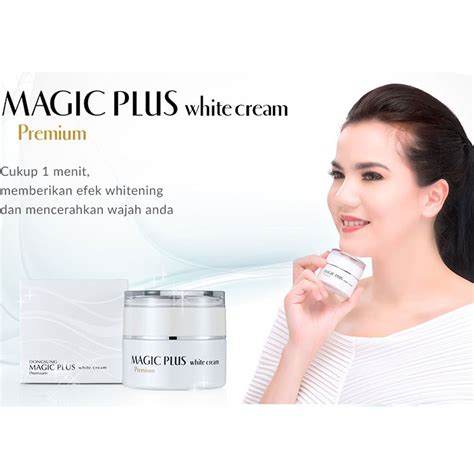 Pemutih Magic Plus harga spesifikasi magic plus white premium terbuat dari bahan herbal dan alami 1 pcs
